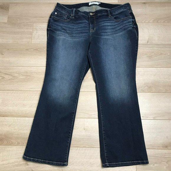 Torrid Size 22 Short Bootcut Jeans